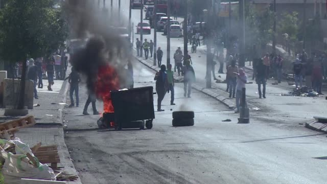 Clashes erupted on Friday in Bethlehem in the Palestinian Territories between Palestinian protesters and Israeli security forces after Palestinians...