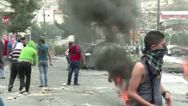 Clashes erupted on Friday in the occupied West Bank city of Hebron where young Palestinians lobbed stones at Israeli soldiers who hit back with...