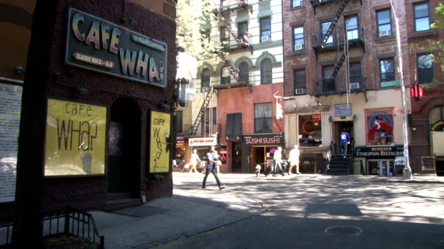 Classic Greenwich Village NYC Music Venue & Restaurants