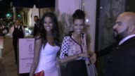 INTERVIEW Claudia Jordan Annie Ilonzeh talk about new Tupac movie outside Catch Nightclub in West Hollywood in Celebrity Sightings in Los Angeles