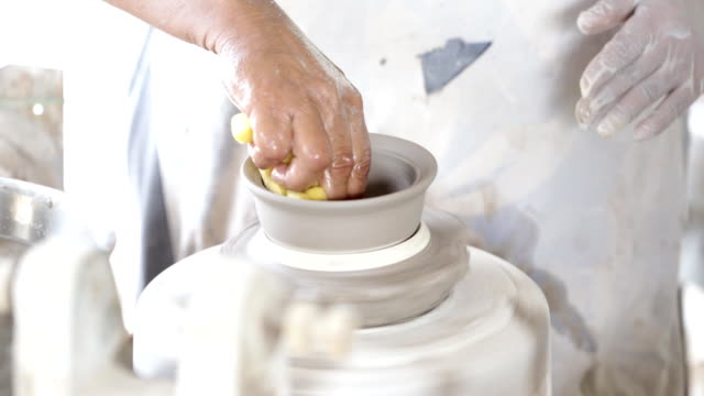 Clay Pottery Potter Craft