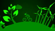 Clean Energy Looping Animation