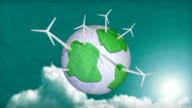 Clean green world.