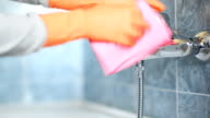 Cleaning and polishing of faucet
