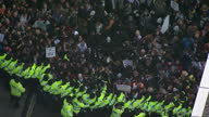 Protesters have accused Scotland Yard of using 'ludicrous' tactics to ensure today's student protest is effectively policed According to police less...