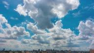 Clear Blue sky white clouds
