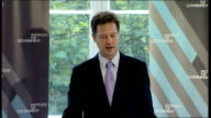 Clegg outlines changes in the way the Coalition will goven Clegg speech Asked about whether his party will hold its nerve over new Coalition policies...