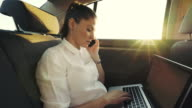 Client - partner phone call conversation in the car.