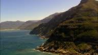 cliffs by Noordhoek Beach - Aerial View - Western Cape,  South Africa
