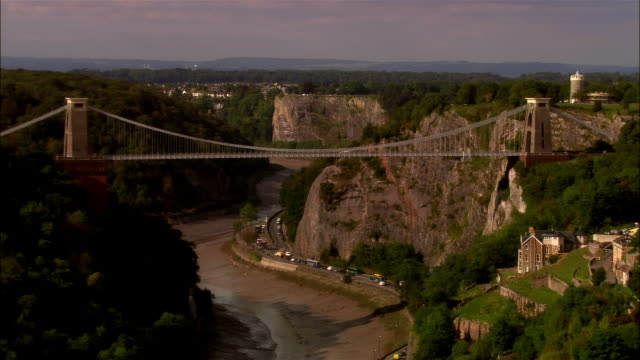 LOW AERIAL, Clifton Suspension Bridge, Bristol, England