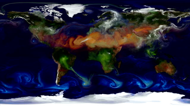 Climate change influences and weather