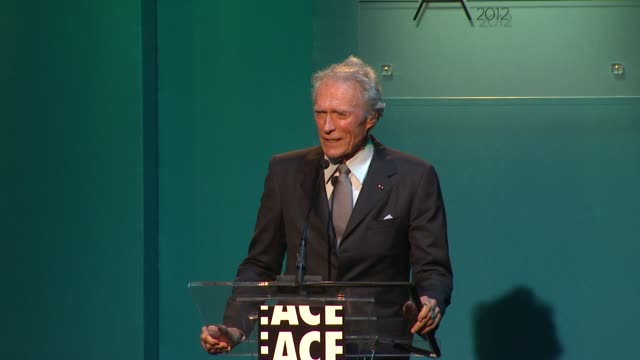 Clint Eastwood at 62nd Annual ACE Eddie Awards on 2/18/12 in Los Angeles CA