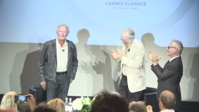 Clint Eastwood at Cinema Masterclass with Clint Eastwood on May 21 2017 in Cannes France
