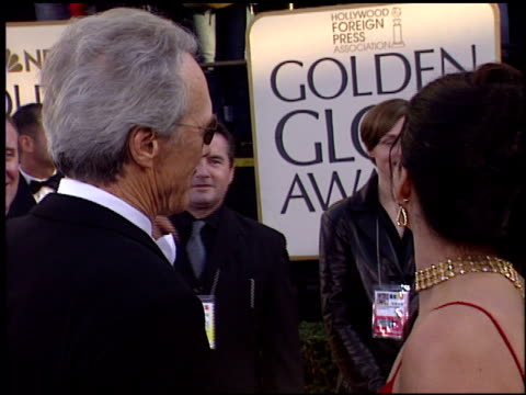 Clint Eastwood at the 2004 Golden Globe Awards at the Beverly Hilton in Beverly Hills California on January 25 2004