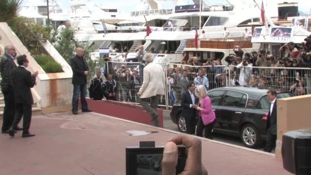 Clint Eastwood at the 2008 Cannes Film Festival 'Changeling' arrivals on May 20 2008