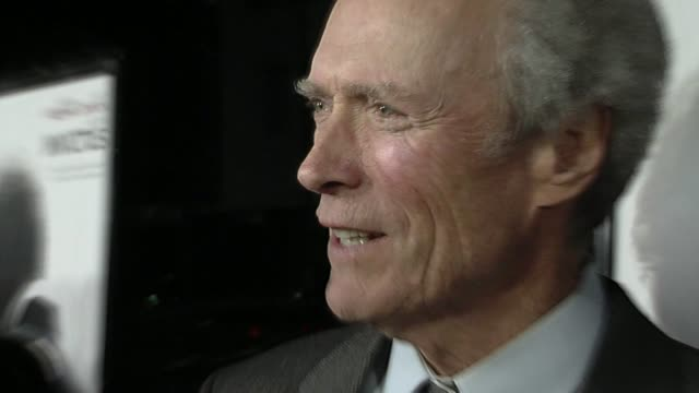 Clint Eastwood at the 'Invictus' Premiere at Beverly Hills CA
