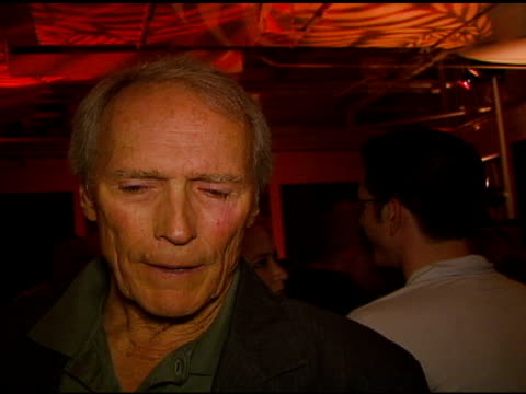 Clint Eastwood on his son's music career on the jazz music that was ever present in the household collaborating on the 'Flags of our Fathers'...