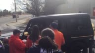 Denver Broncos player Bradley Roby stops his car while exiting the Broncos Training Complex on Saturday afternoon to give fans autographs Clip 1...