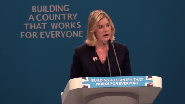 Clips from Education Secretary Justine Greening at the Conservative Party annual conference in Manchester She explains why the Tories will not scrap...
