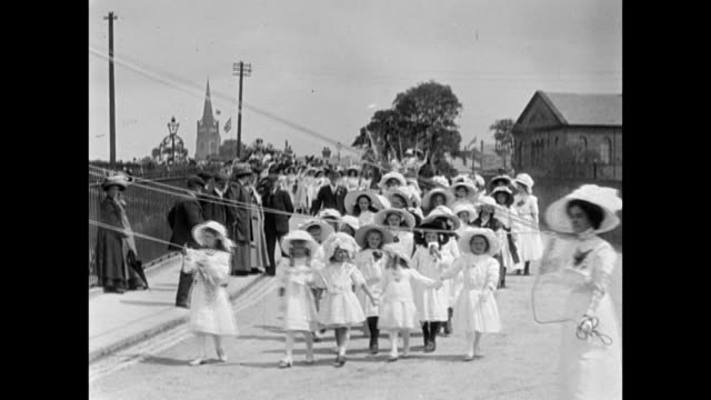 1911 Clitheroe Coronation Procession