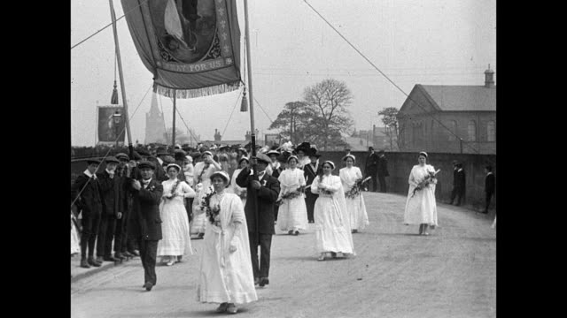 1911 Clitheroe Coronation Procession