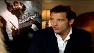 Clive Owen stars in new movie 'Shoot 'em Up' Clive Owen interview SOT Physically hard / Witty movie / Inventive action