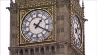 Clock face of Big Ben Available in HD.