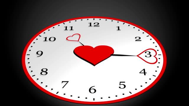 Uhr-Herz