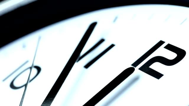Clock Last Minute - blue tint