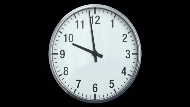Clock (Time Lapse) | Loopable