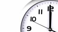 Clock ticking to twelve O'clock last 15 seconds