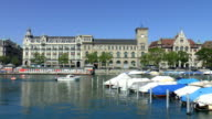 Clock Tower - Zurich, Switzerland