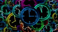 Clocks - Seamless Loop Video
