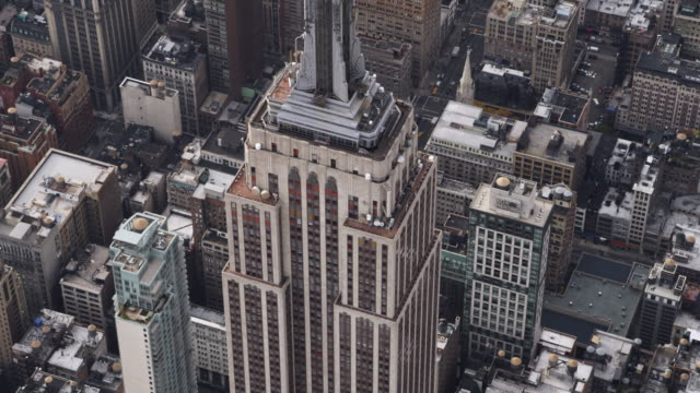 Close flight past the Empire State Building. Shot in 2011.