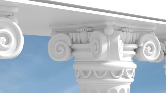 Nahaufnahme Säulen/Endlos wiederholbar