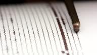 close up drum recorder recording seismic signal