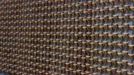 Close up of gold stars on Freedom Wall at National World War II Memorial / Washington, DC