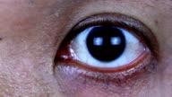 Close up of human eye.