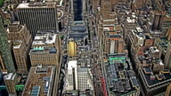 Close up of Manhatten from the Air