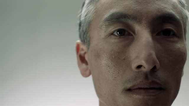 Close up of mature Chinese man