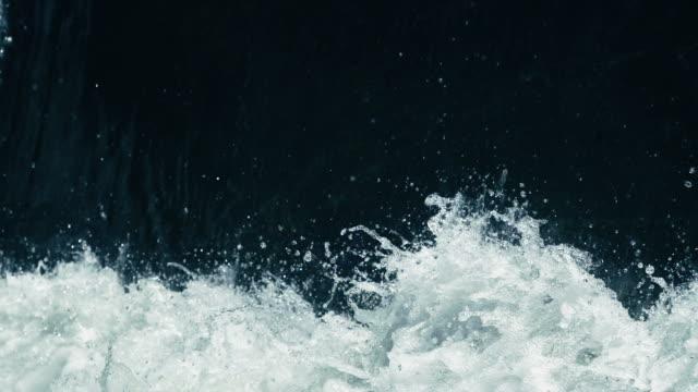 Nahaufnahme von Wasser planschen