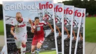 Close Up The official fan magazine of 1 FC Koeln is seen prior to the Second Bundesliga match between 1 FC Koeln and 1 FC Kaiserslautern at...