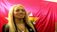 Closer Young Heroes Awards Ceremony 2006 at Dorchester Hotel London Celebrity interviews / Presentation of awards Aisleyne HorganWallace interview...