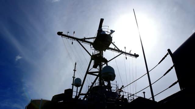close-up - a warship