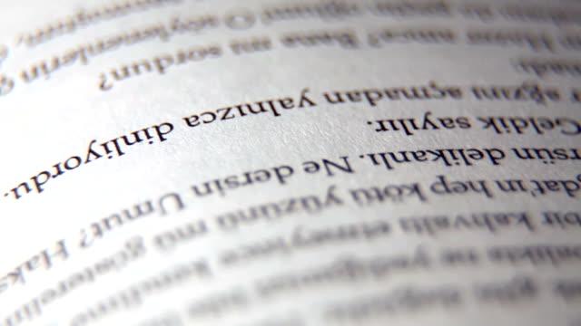 Close-up libro di tornitura