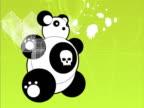 Close-up of a toy panda