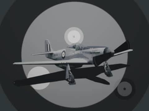 Close-up of an aircraft