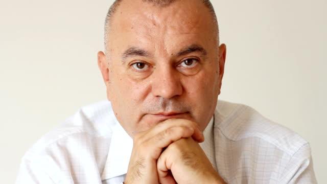 Close-up of Businessman portrait