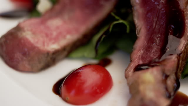 Close-Up of delicious Italian Food- aesthetically decorated