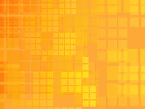Close-up of squares on an orange background